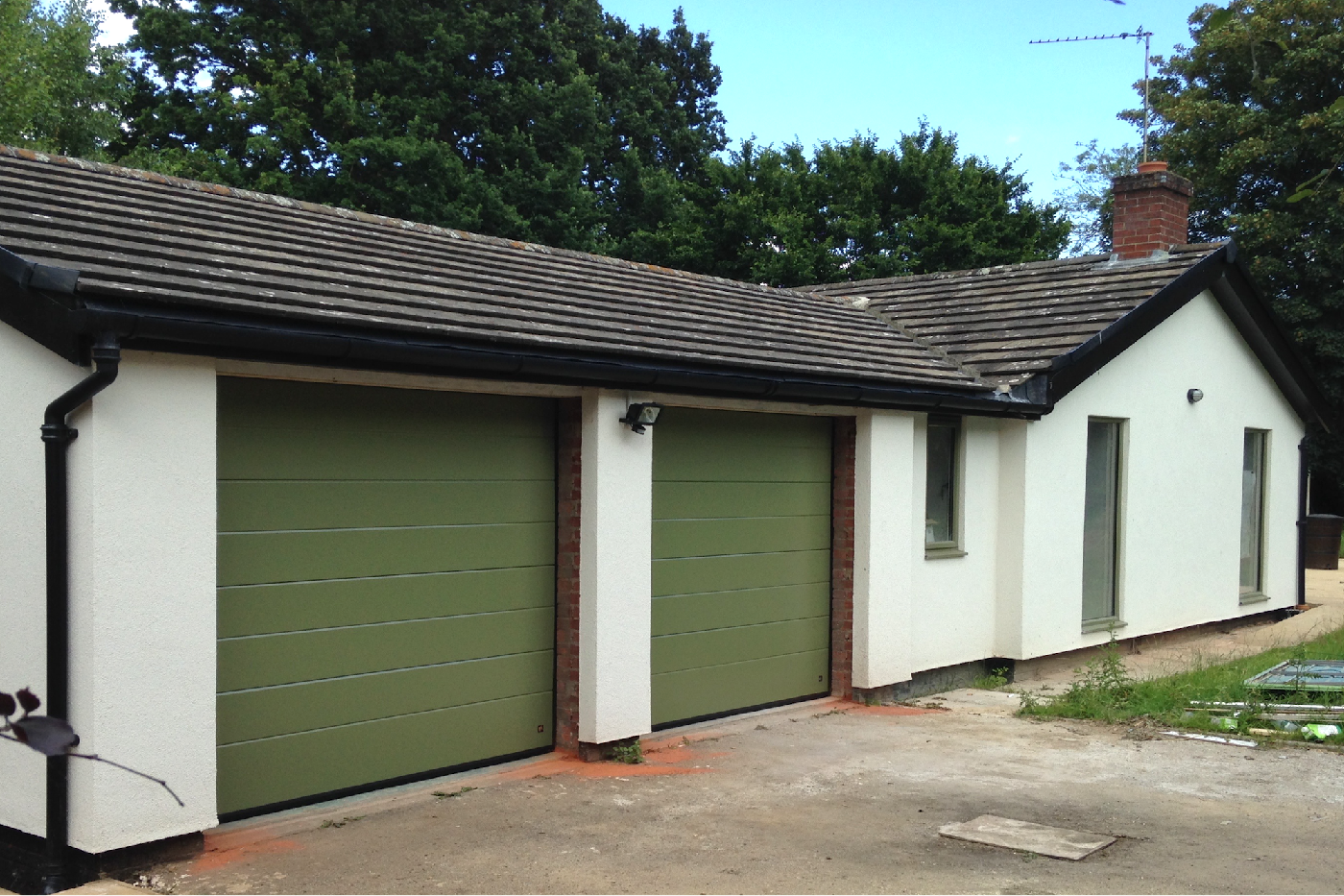 Ryterna Automatic Sectional Garage Doors