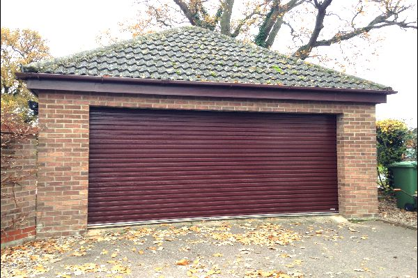 Single Skin Gliderol Roller Garage Door